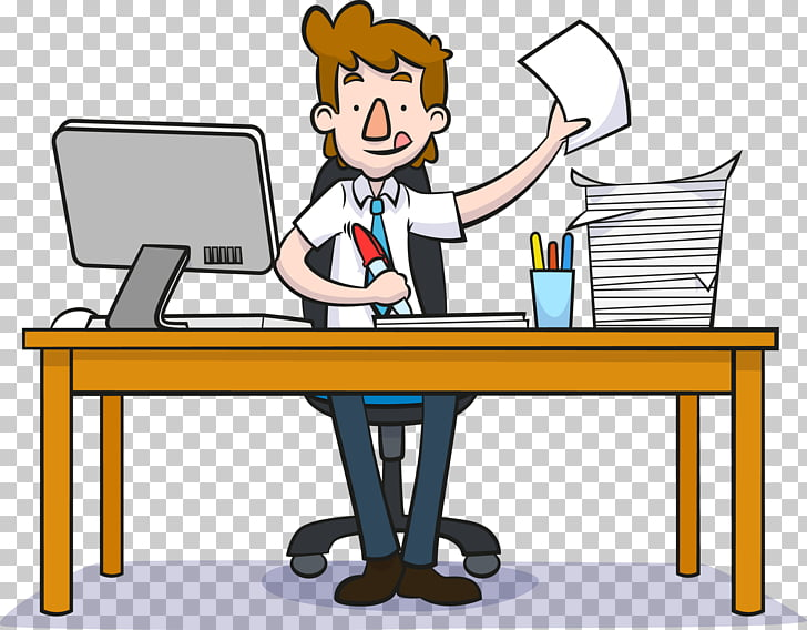 Cartoon Businessperson Motion graphics, Work man PNG clipart.