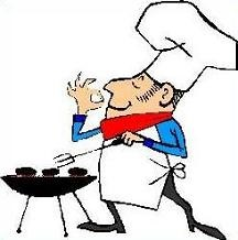 Free Barbecue Hat Clipart.