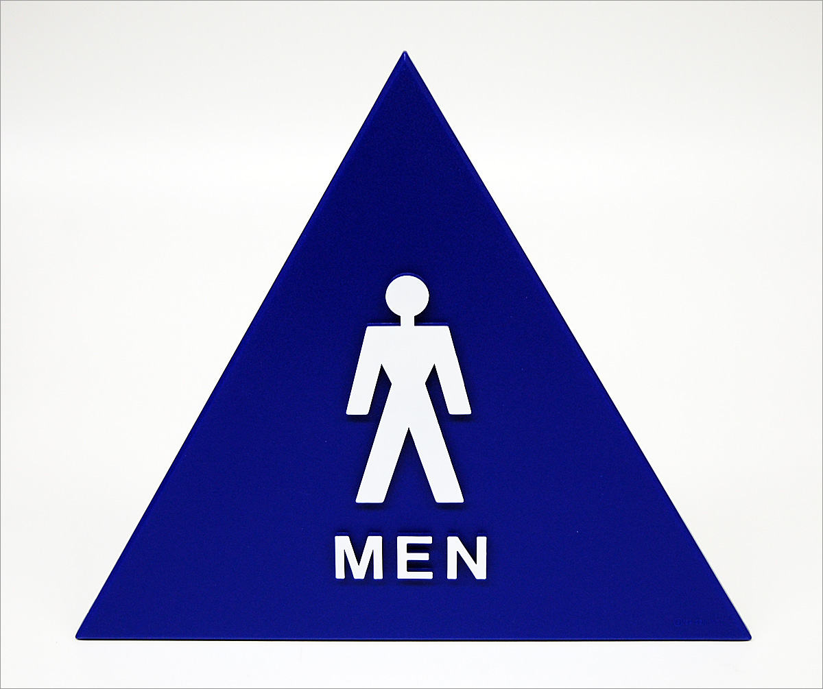 Mens Bathroom Sign.