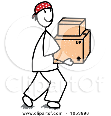Clipart Man Carrying.