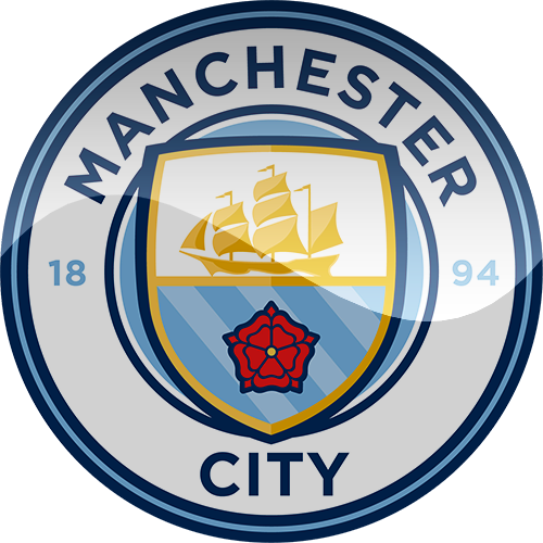 Manchester City New Football Logo Png.