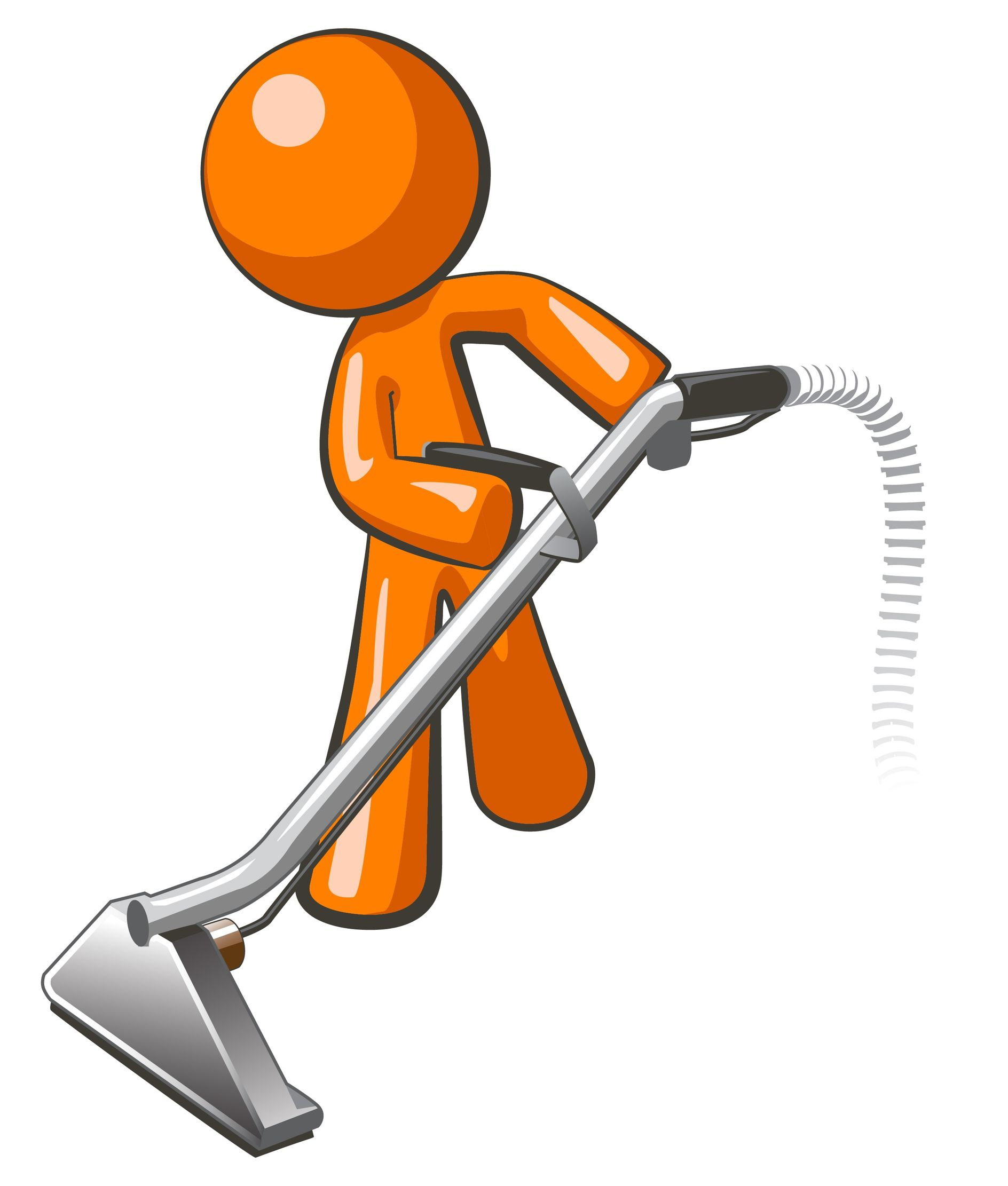 Cartoon Janitor Clipart.