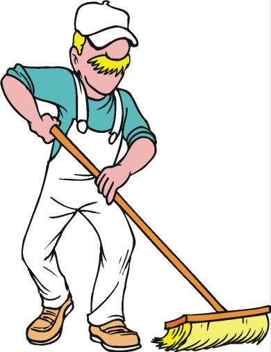 Man cleaning clipart 8 » Clipart Portal.