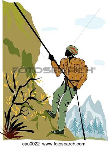 Mountain climbing Illustrations and Clipart. 1,956 mountain.