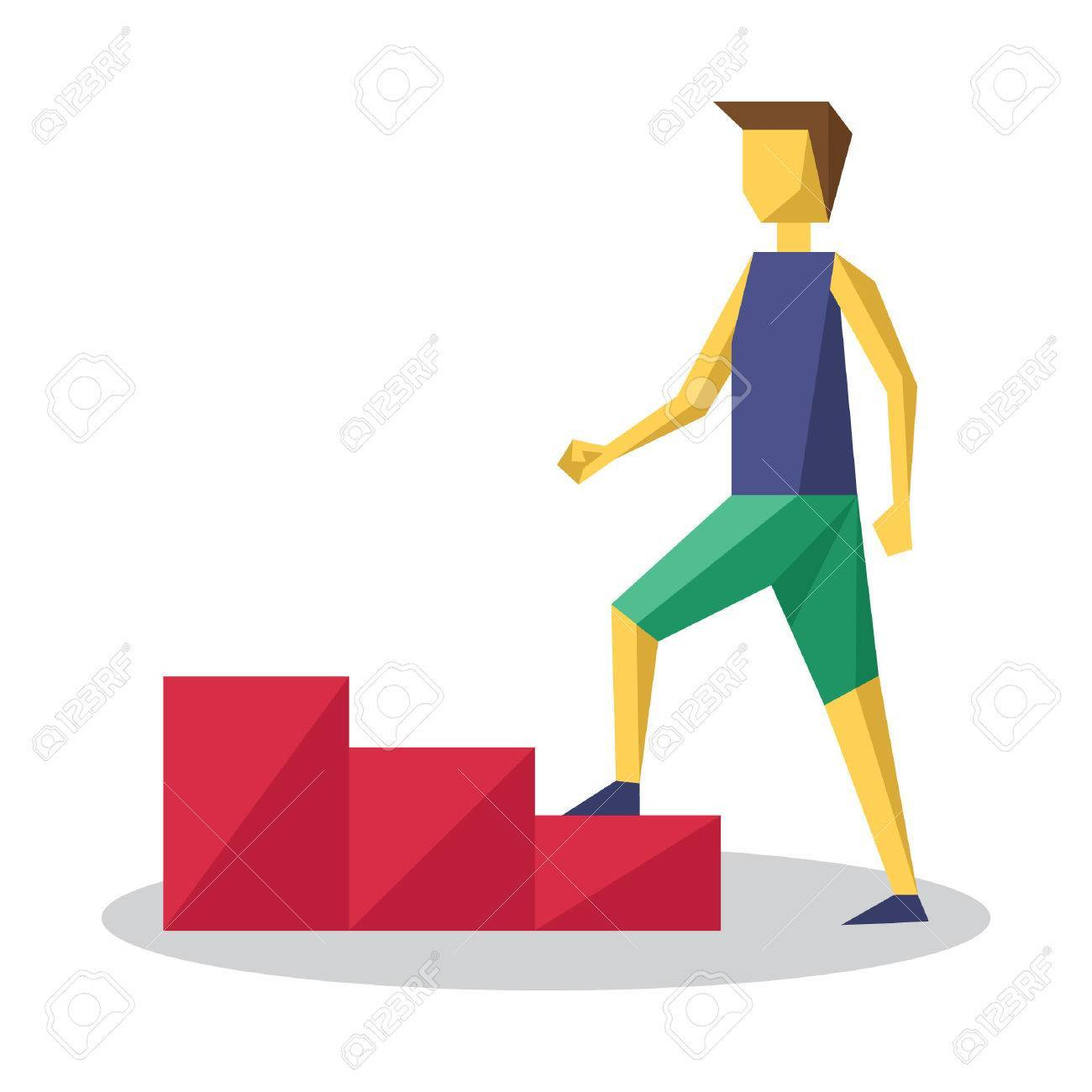 Man climbing stairs clipart 7 » Clipart Portal.