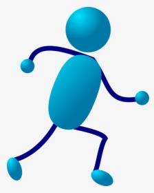 Stickman, Stick Figure, Blue, Matchstick Man, Cartoon.