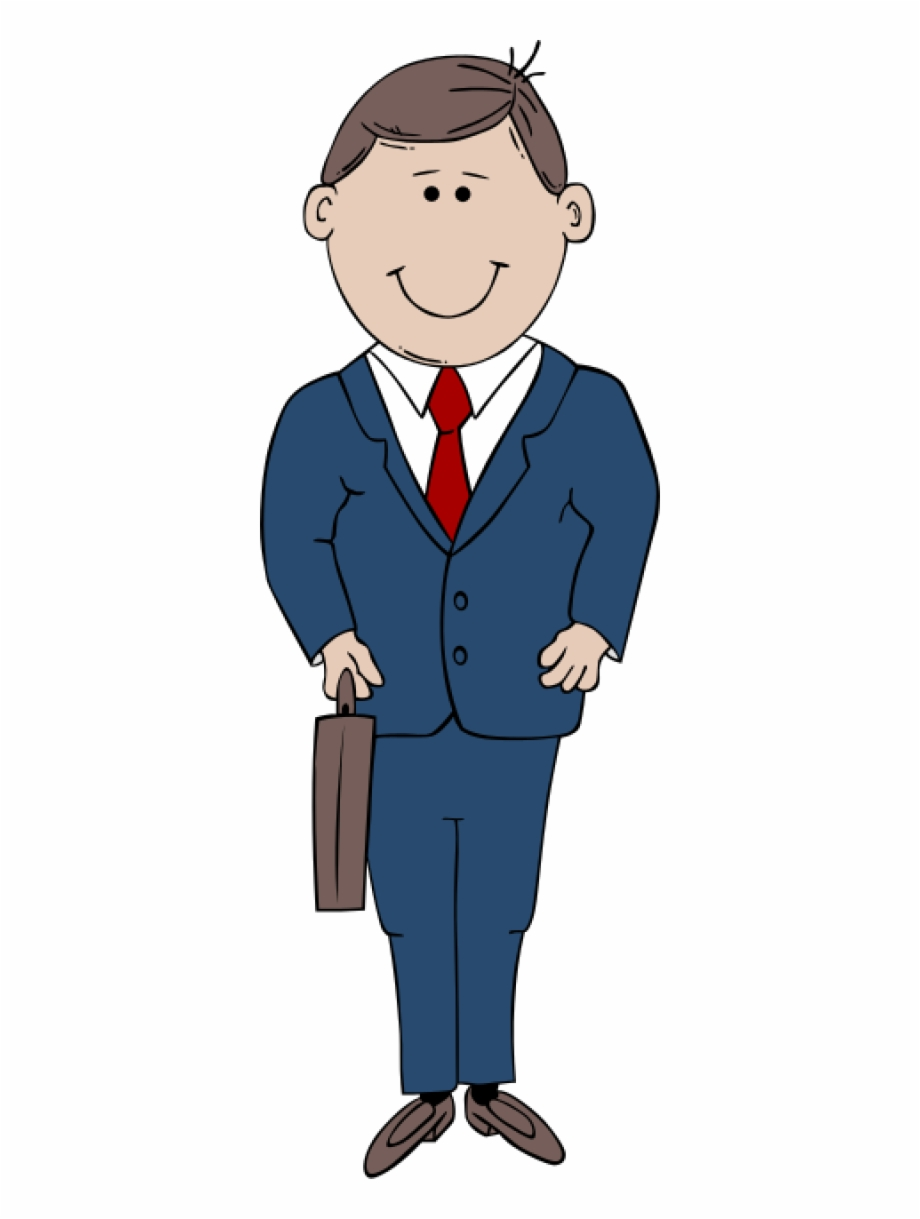 Gerald G Man In Suit 80 Man Clipart.