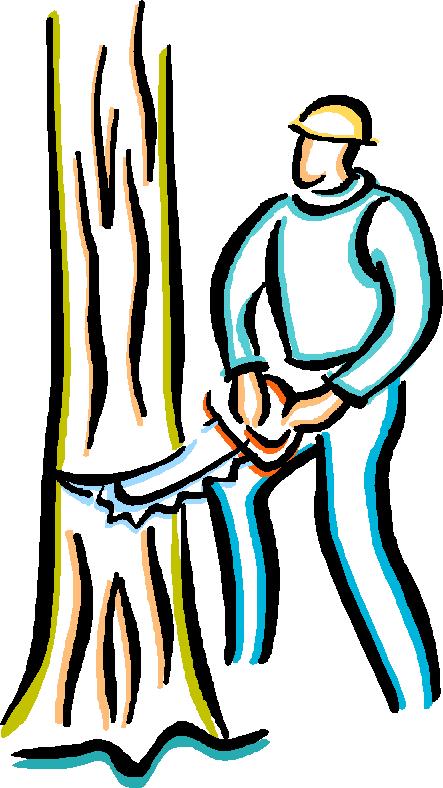 Hand Tree clipart.