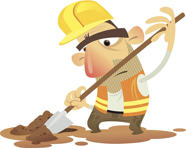Man digging clipart 8 » Clipart Station.