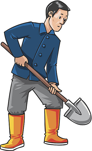 Man digging clipart 6 » Clipart Station.