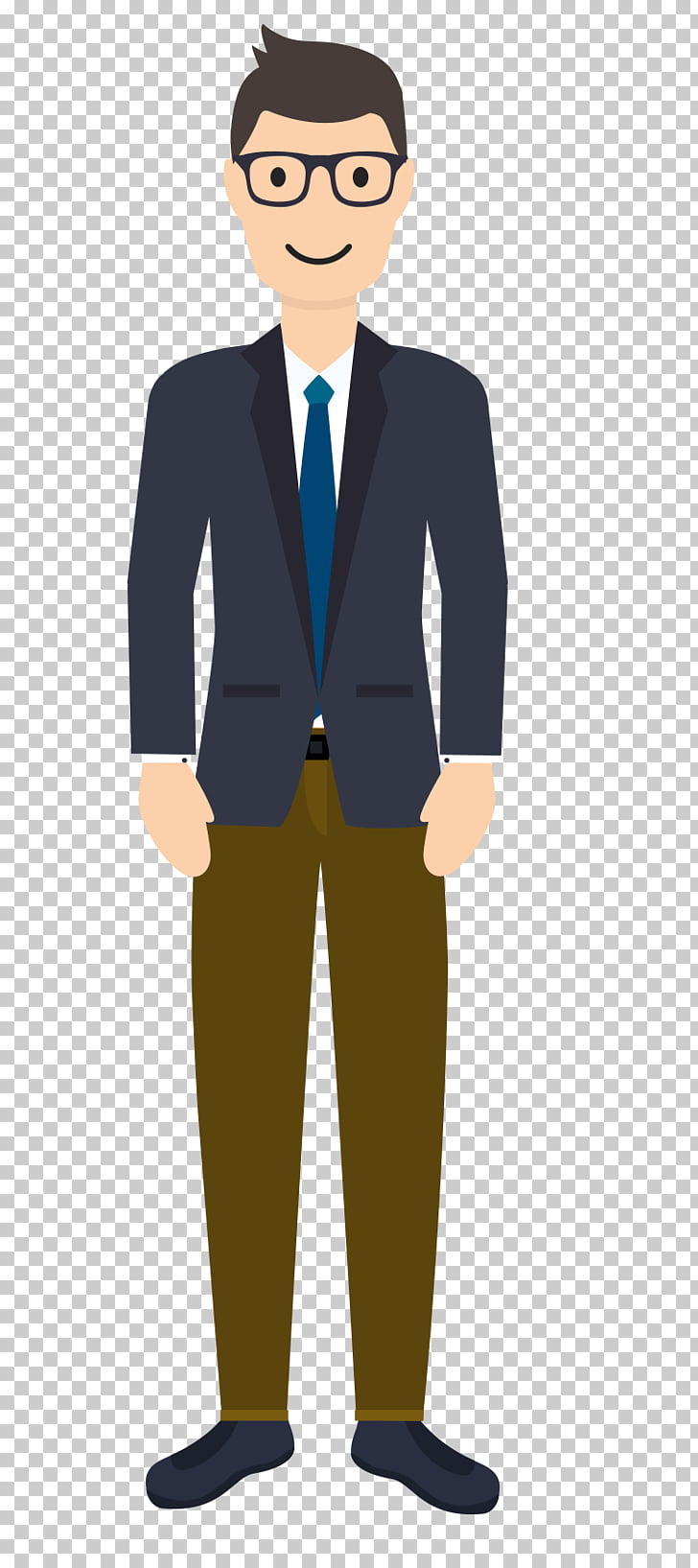 Suit, A man in a suit PNG clipart.