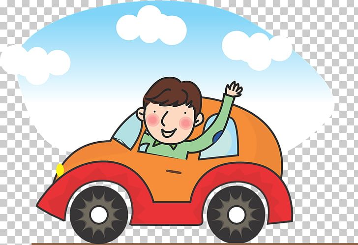 Car Driving Pixel, A man driving PNG clipart.