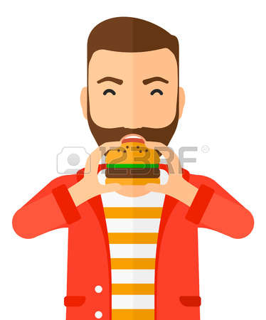 11,906 Man Eating Stock Vector Illustration And Royalty Free Man.