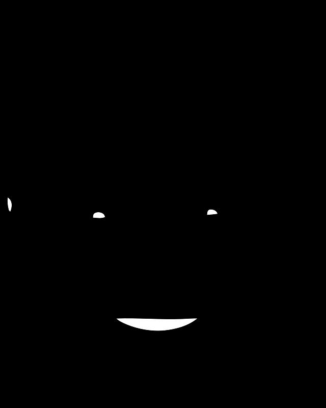 Man Face Clipart.