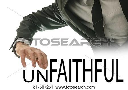 Stock Photography of Unfaithful or faithful.