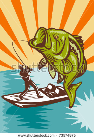 Bass Boat Stock Images, Royalty.