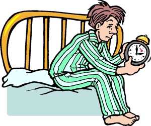 Getting Up Out Of Bed Clipart.