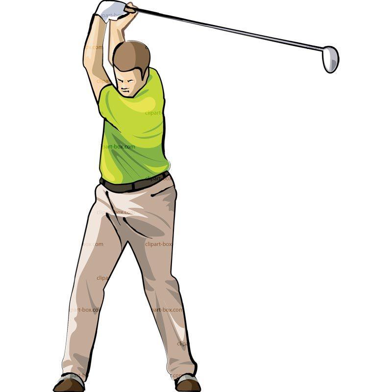 Man golfing clipart 5 » Clipart Portal.