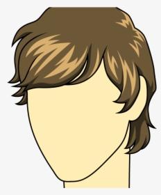 Hairstyles Clipart Man Hair.