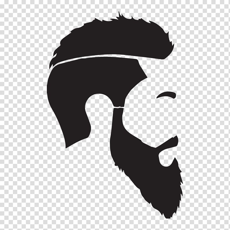 Man hairstyle illustration, Beard oil Man, beard and.