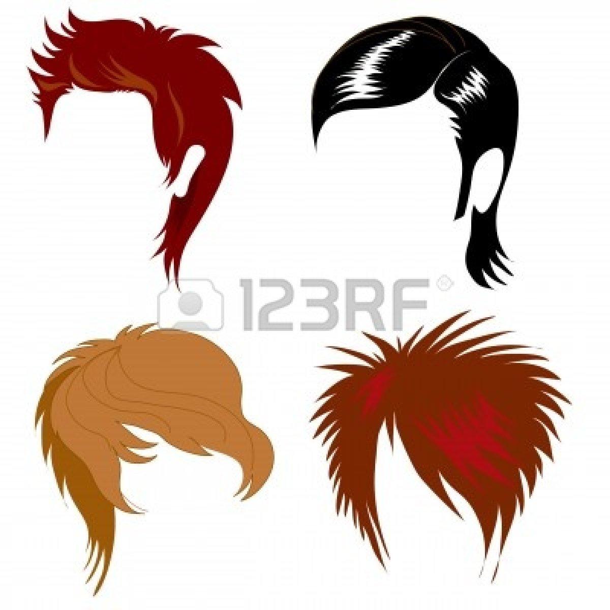 Man Hair Stylist Clipart.