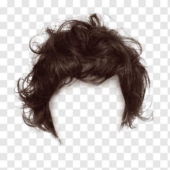 Man\'s hair, Hairstyle Comb Long hair, Men\'s fashion brown.