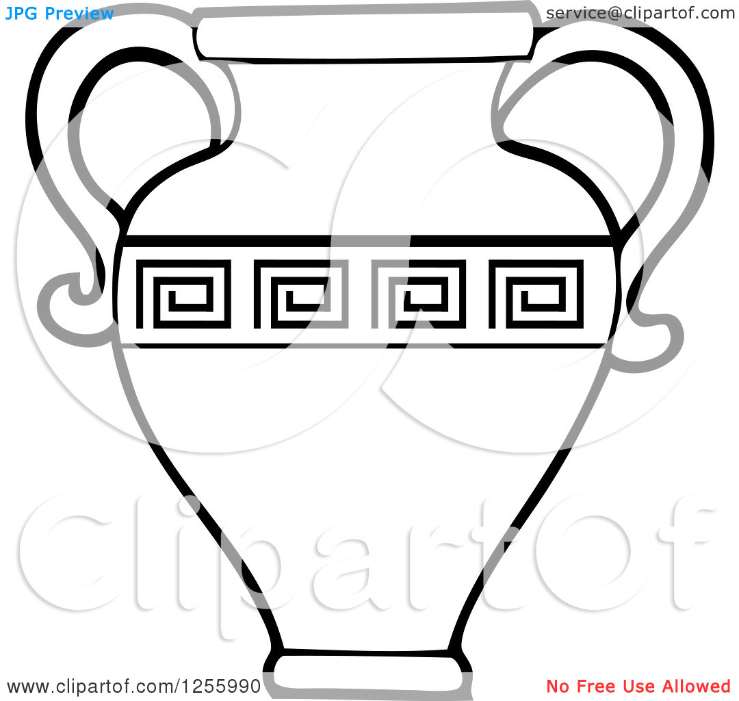 Clay Jars Clipart.
