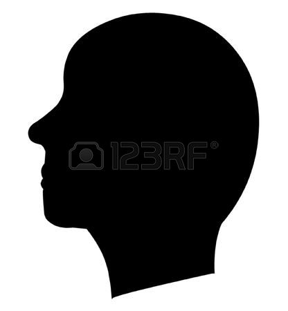 131,543 Silhouette Head Stock Vector Illustration And Royalty Free.