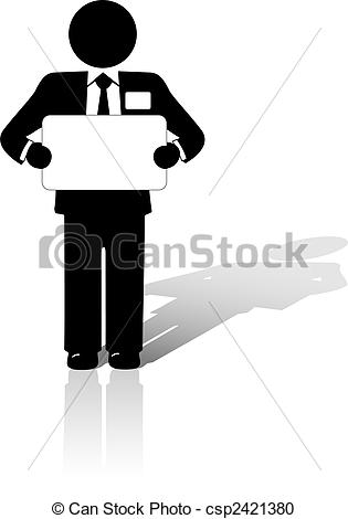 Man in suit holding sign Illustrations and Clipart. 979 Man in.