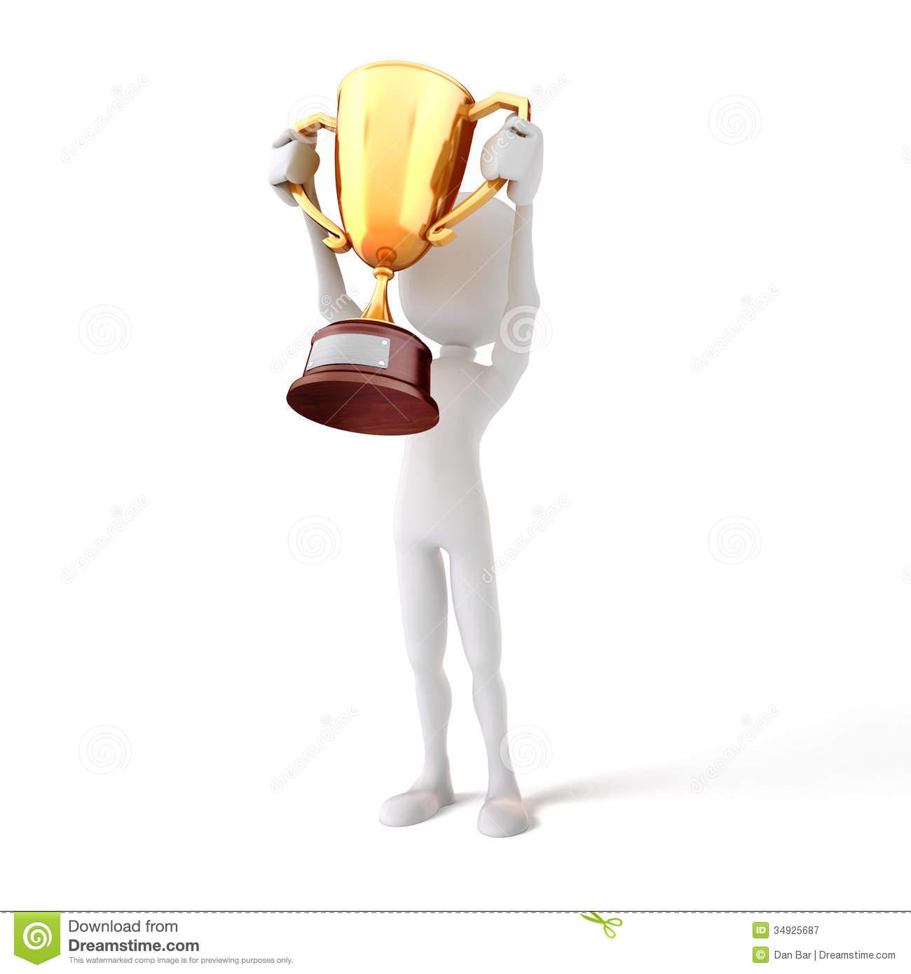 Similiar Guy Holding Trophy Keywords.