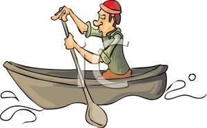 Cartoon Row Boat Clipart 80