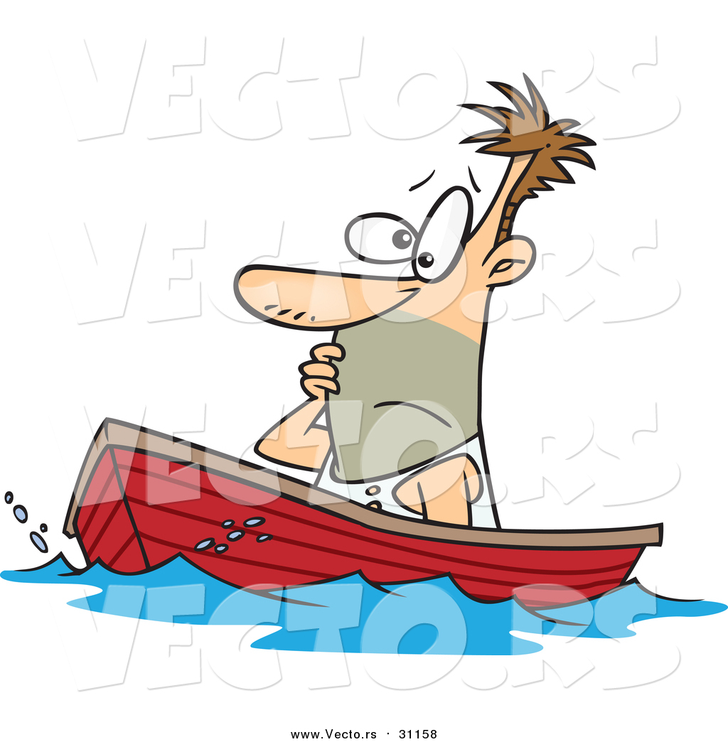 Showing post & media for Cartoon boat with man.