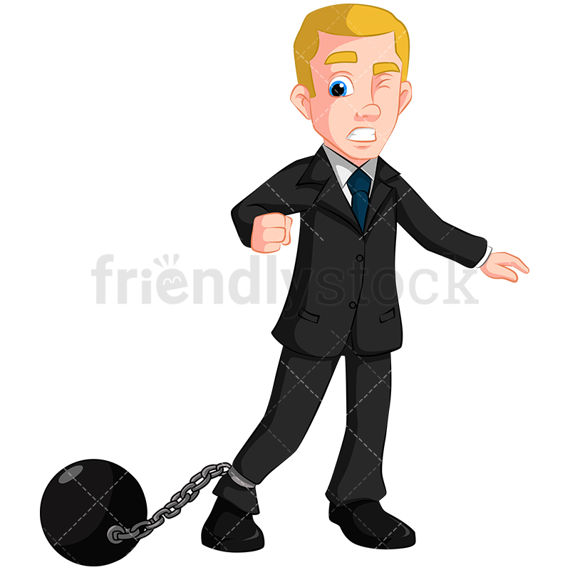 Ball And Chain Clipart.