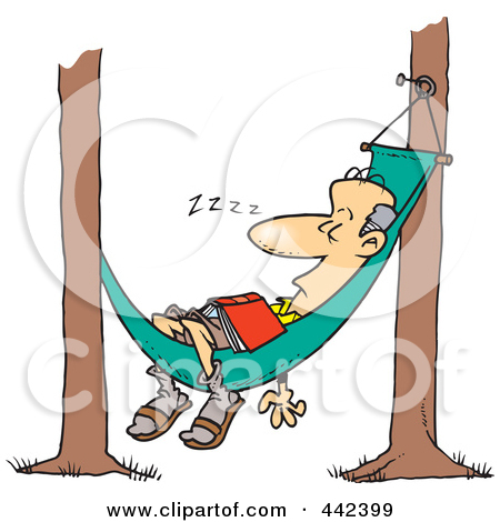 man in hammock free clipart - Clipground