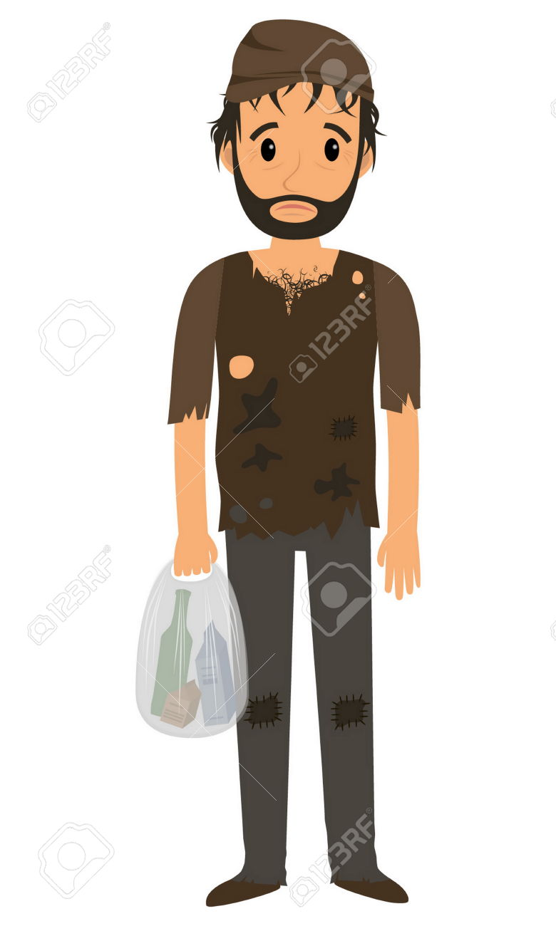 Man In Suit Tzitzit And Kippah Clipart.