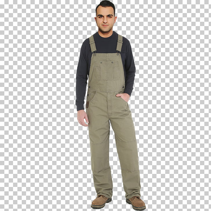 Overall Bib Workwear Clothing ECCO, overalls PNG clipart.