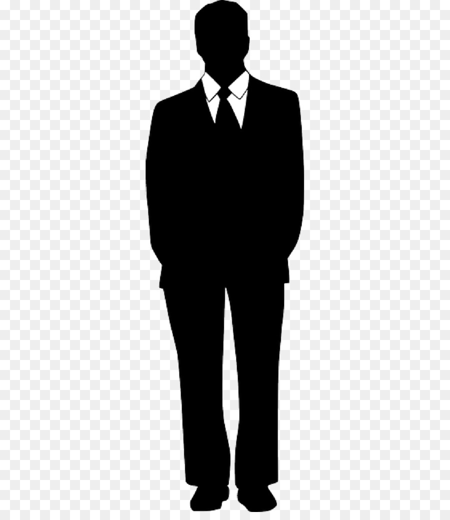Free Silhouette Man In Suit, Download Free Clip Art, Free.