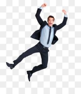 Man Jumping PNG.