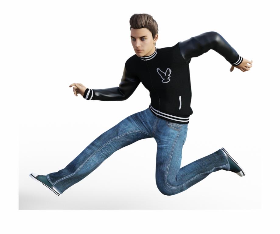 Man, Jump, Sport, Run, Fashion, Casual, Style, Clothing.