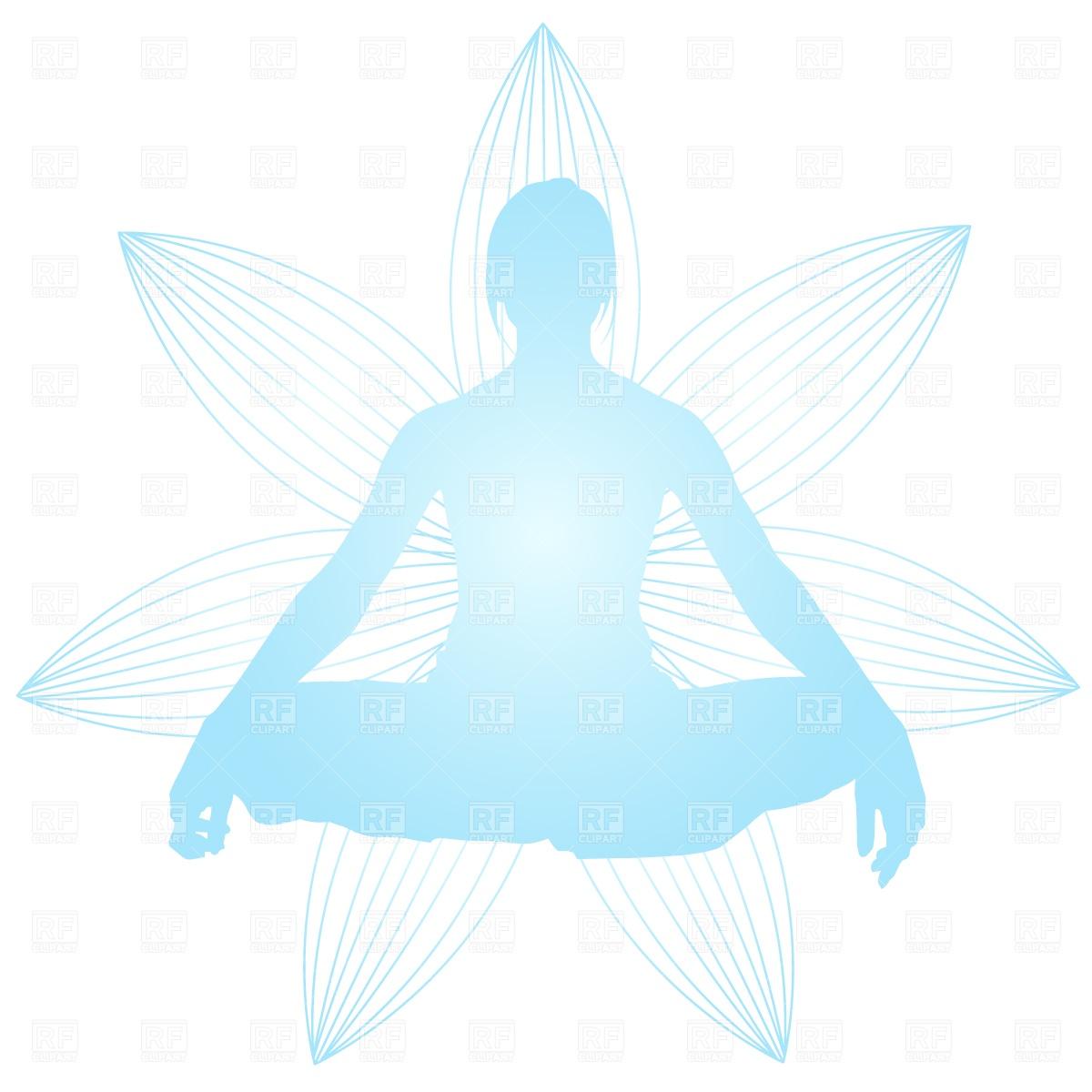 Meditation Clipart.