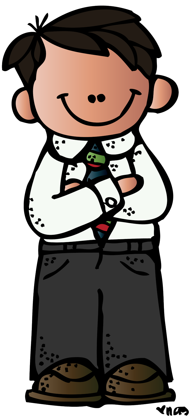 Lds Picture Of Folded Arms Clipart.