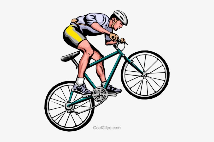 Cycling Clipart Mountain Bike.