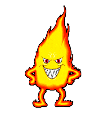 Man On Fire Cartoon Jessica.