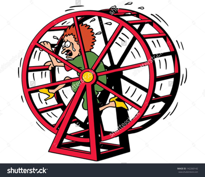 Clipart Hamster Wheel.