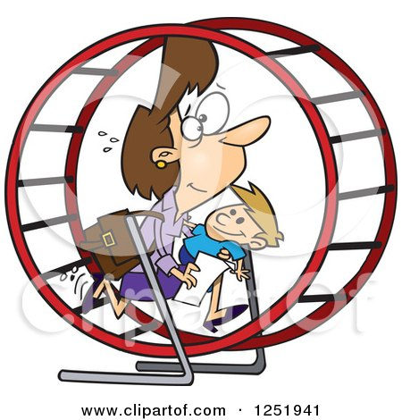 Hamster Wheel Cartoon Pictures to Pin on Pinterest.