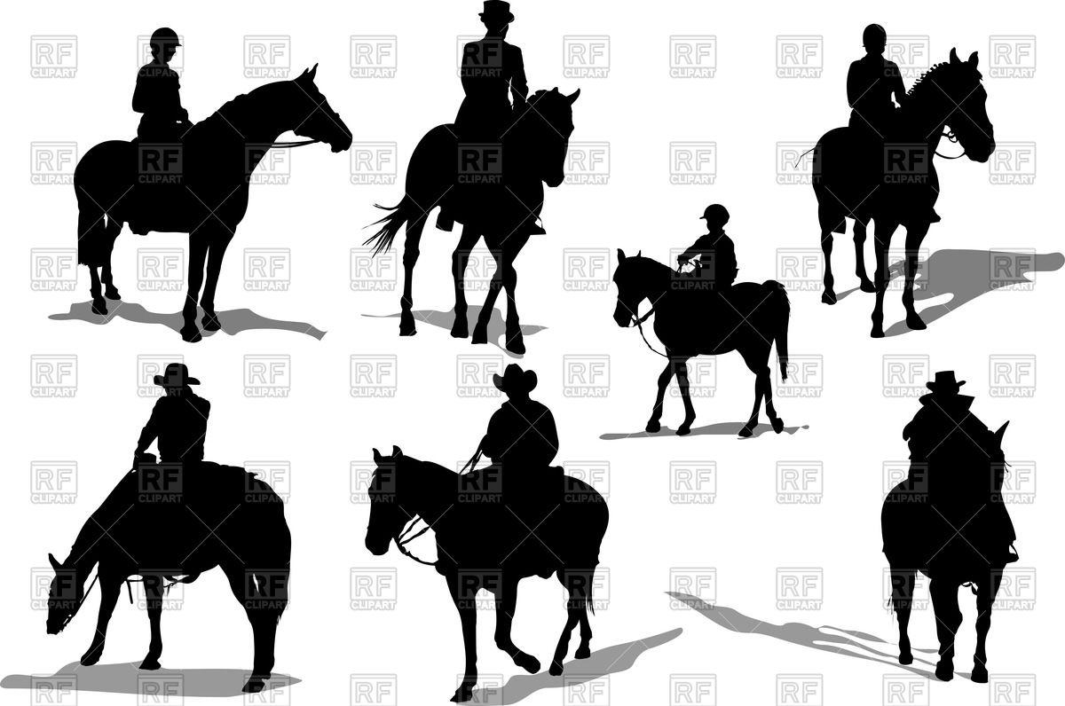 Jockeys and cowboys.