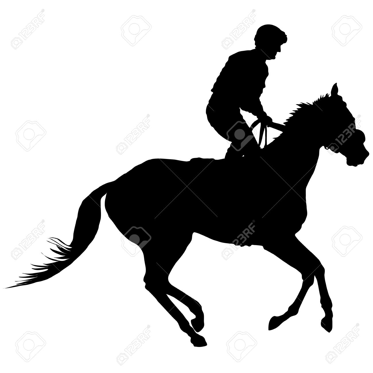 6,425 Man On Horse Cliparts, Stock Vector And Royalty Free Man On.