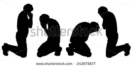 how to draw a man kneeling