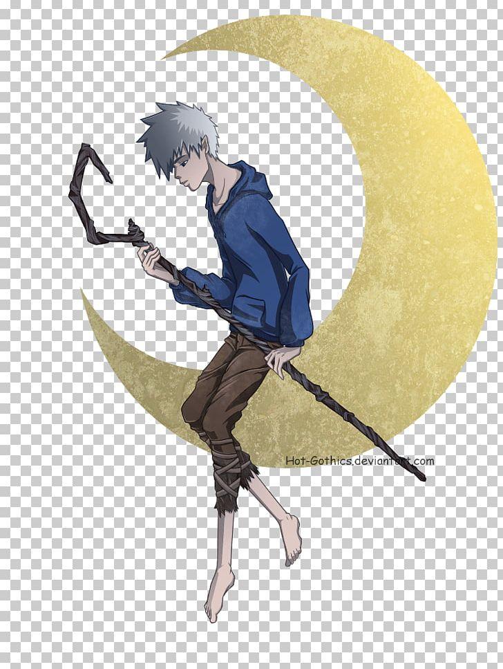 Jack Frost Man In The Moon Fan Art DreamWorks Animation PNG.