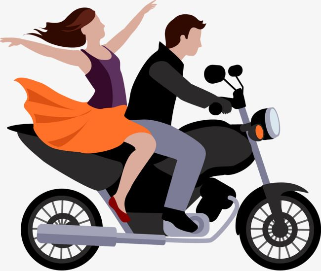 Riding A Motorcycle Man, Motorcycle Clipart, Man Clipart.